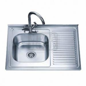 Умивалник за кухня Алпака 800 х 600 х 180 мм