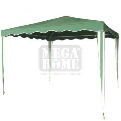 Градинска шатра от полиестер 3 х 3 х 2.5 м