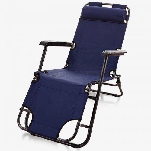Плажен стол - шезлонг 153 х 60 х 79 см