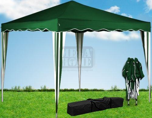 Градинска шатра Pop-up полиестер 3 х 3 м