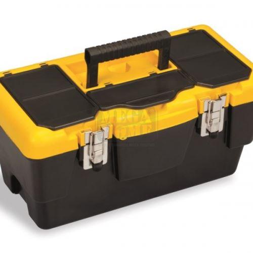 Куфар за инструменти метални закопчалки Ekono 19 инча