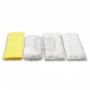 Комплект микрофибърни кърпи за кухня Karcher