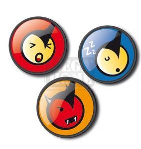 Щифтове Roller Pins Emoticonos Fun  Roller Nikidom