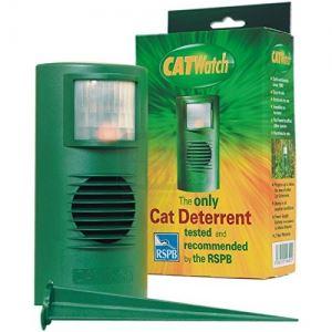 Ултразвуков уред прогонващ котки CATWATCH за 125 кв. м.