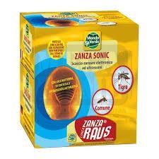Електронен уред за прогонване комари с LED светлин за 200 кв.м.