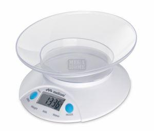 Електронна кухненска везна Oval 5 кг Meliconi