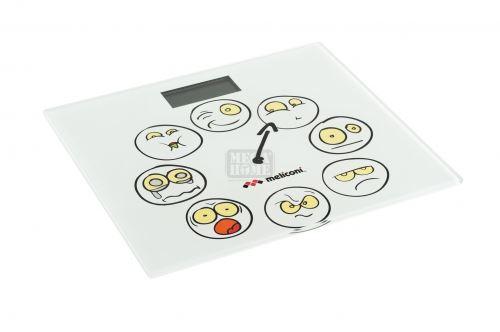 Електронен кантар за баня 150 кг Meliconi Emoticons