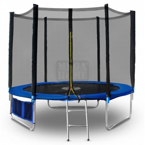 Батут с мрежа и стълба 366 см 12FT