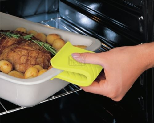 Комплект подложка, 2 ръкохватки и ръкавица от силикон Meliconi