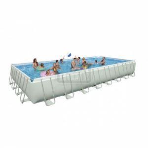 Сглобяем басейн с филтърна помпа Intex Ultra Frame 975х488х132см