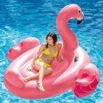 Надуваем остров Розово фламинго Intex 218 х 211 х 136 см