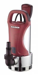 Потопяема водна помпа за мръсна вода 750 W Raider RD-WP38