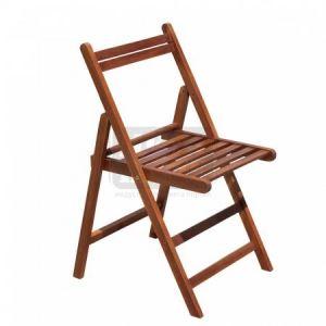 Сгъваем дървен стол HDW C02