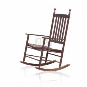 Люлеещ дървен стол 460907-501W