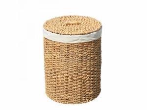 Цилиндричен плетен кош за пране