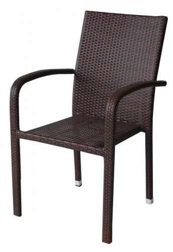 Градински стол PVC ратан San Valente 59