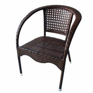 Градински стол PVC ратан San Valente 220