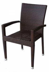 Градински стол PVC ратан San Valente 308