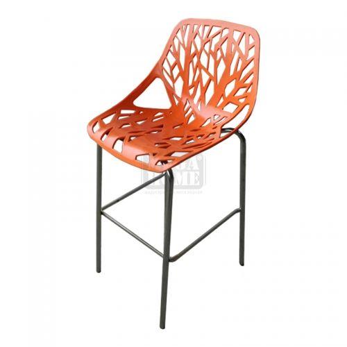 Бар стол от полипропилен San Valente Лимо
