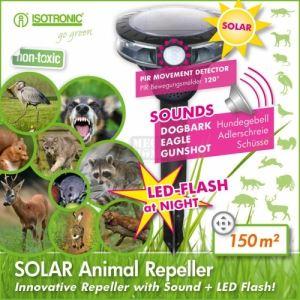 Соларен уред с ултразвук срещу животни Isotronic