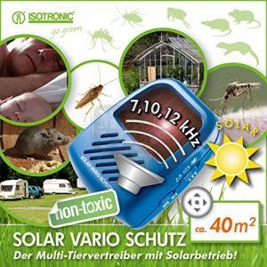 Соларен уред за защита от насекоми и гризачи Isotronic
