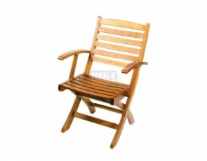 Градински дървен стол DeHome