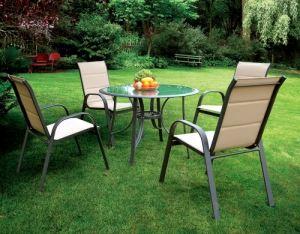 Градинска маса с четири стола DeHome
