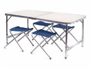 Сгъваема маса с 4 стола DeHome