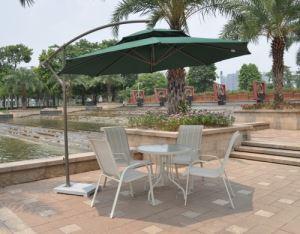 Градински чадър със стойка DeHome ф 3 м