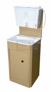 Умивалник с пластмасов резервоар и пластмасова мивка