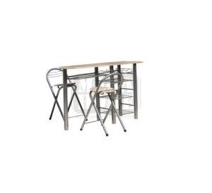Трапезарен комплект маса с два стола