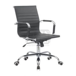 Офис стол от изкуствена кожа 55 х 61 х 89.5 - 99.5 см