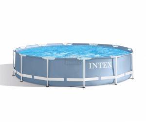 Сглобяем басейн с филтърна помпа Intex Prism Frame 366 х 76 см