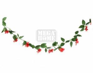 Гирлянд с листа и цветчета DeHome 200 см