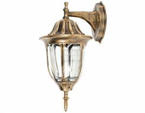 Градинска лампа DeHome E27 36 см старо злато