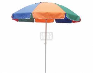 Плажен чадър DeHome Ф 2.2 м