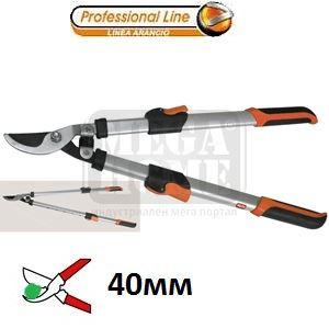 Ножица за клони 40 мм с телескопични дръжки серия профи Valex