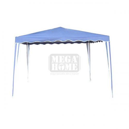 Градинска шатра 3 х 3 м Muhler синя