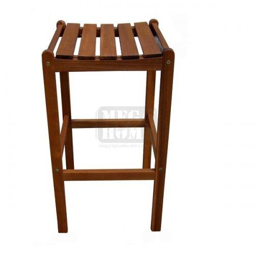 Акациев стол без облегалка Muhler WC018S0