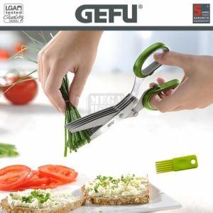 Ножица за подправки Gefu зелена