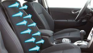 Седалка за автомобил с вентилация Innoliving + Адаптер 220 V