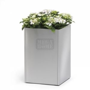 Метална саксия Blomus Greens Cube 60 х 40 х 40 см