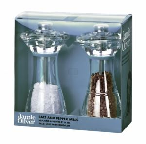 Комплект мелнички за сол и пипер Jamie Oliver 14 см