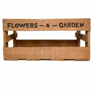 Щайга за декорация и цветя