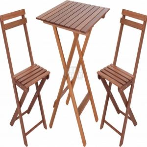 Градински сет маса с два стола