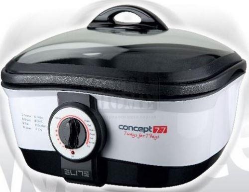 Мултифункционален уред за готвене 8 в 1 Elite MC-8