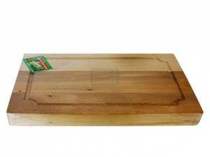 Дървена дъска за транжиране 30 - 40 х 21 - 25 х 4 см