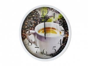 Часовник Кафе ф 30 см Т5-821
