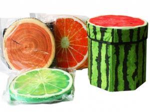 Табуретка кутия Плодове 28 см Т6-30