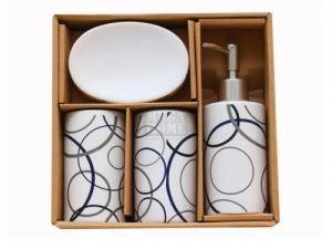 Керамичен комплект за баня 4-ка кръгове С21-61